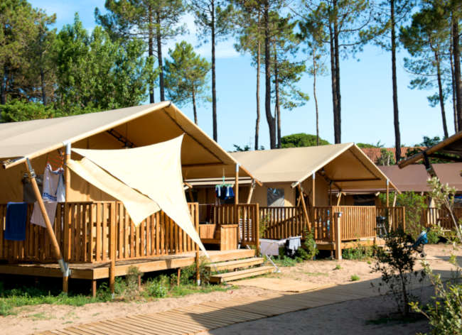 Firefly Holidays Les Sablons Safari Tent Row 2 472h