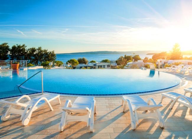 Firefly Holidays Krk Premium Camping Resort Infinity Pool 600h