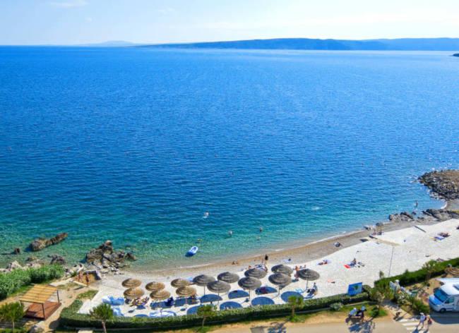 Firefly Holidays Croatia Road Trip Krk Resort Beach