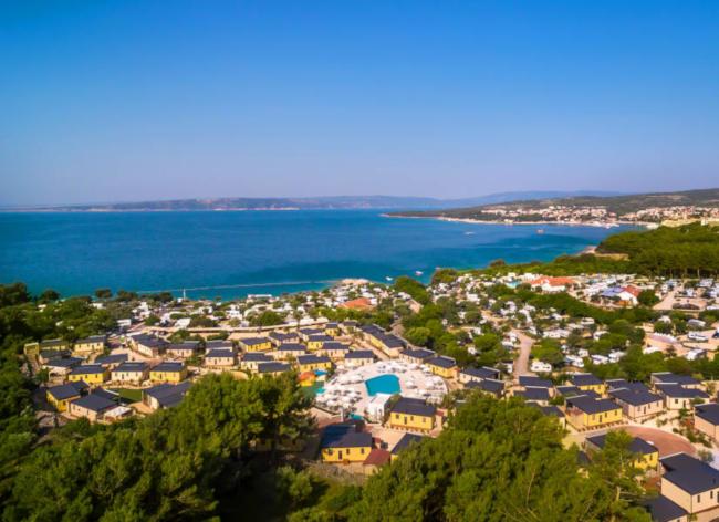 Firefly Holidays Croatia Road Trip Krk Resort View