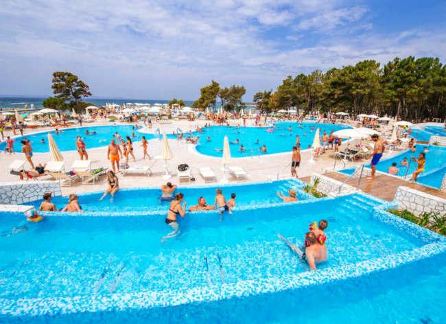 Firefly Holidays Croatia Road Trip Zaton Pools