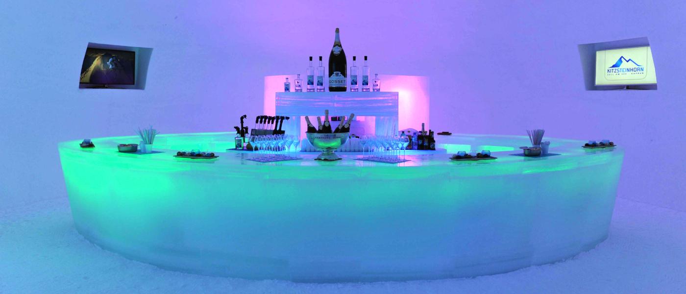 Firefly Holidays Kaprun Kitzsteinhorn Ice Bar