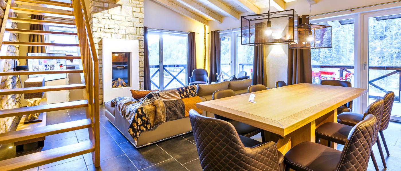 Saalbach Mountain Lodges - Living Room