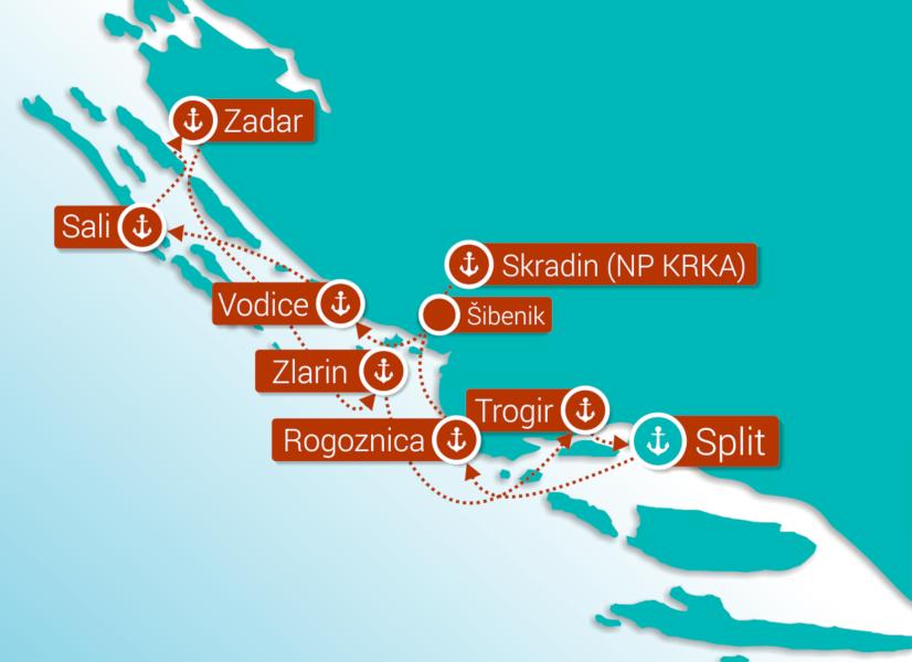 Example Gulet Itinerary