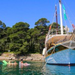 Firefly Holidays Croatia Cruises Cove Anchorage 2