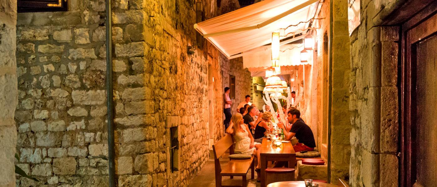 Firefly Holidays Croatia Cruises Hvar Restaurant