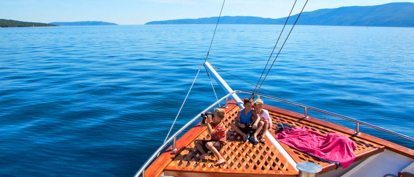 Firefly Holidays Croatia Cruises Prow View 2