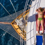 Firefly Holidays Croatia Cruises Sunbathers