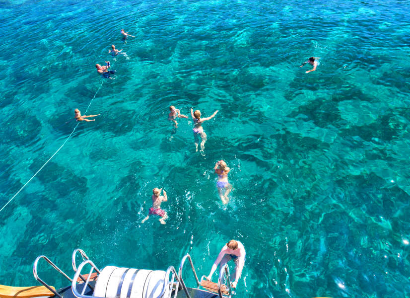 Firefly Holidays Croatia Cruises Swimmers 2 600h