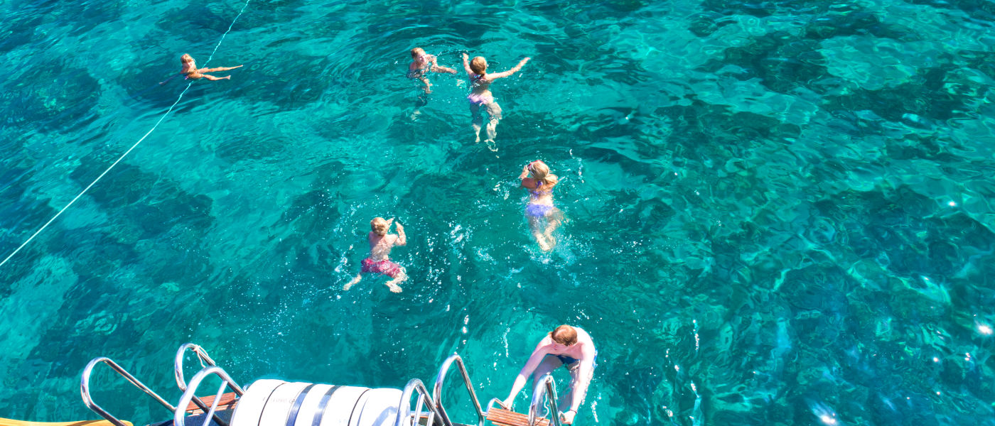 Firefly Holidays Croatia Cruises Swimmers 2