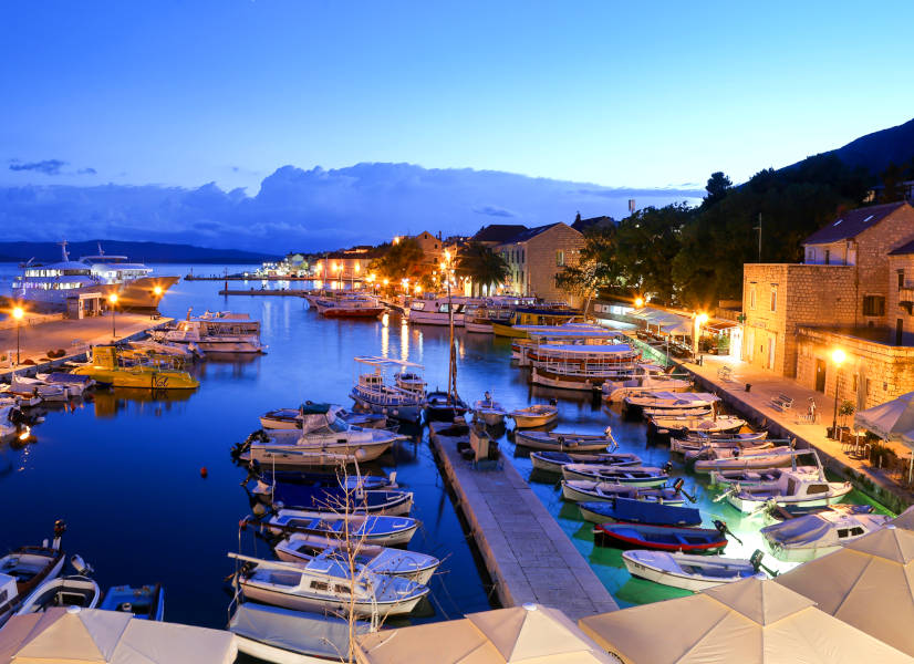 Firefly Holidays Croatia KL2 Bol Port 600h