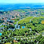 Parco delle Piscine Town View Aerial