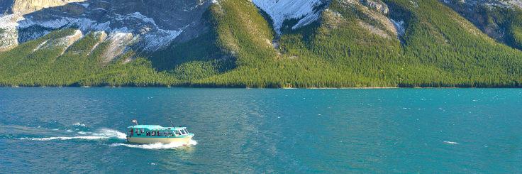 Banff Lake Cruise Wide