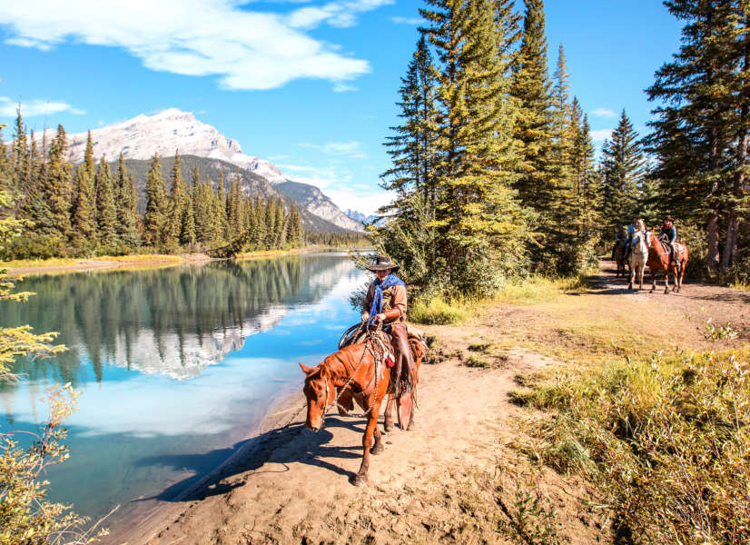 Firefly Holidays Banff Horse Ride 3 600h