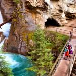 Firefly Holidays Banff Johnston Canyon