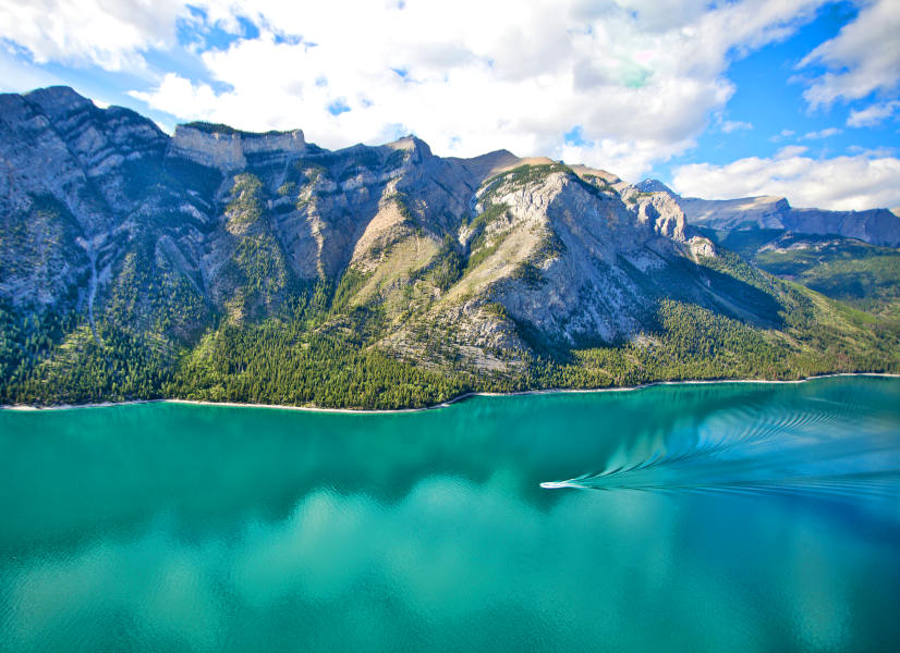 Firefly Holidays Banff Lake Minnewanka 600h