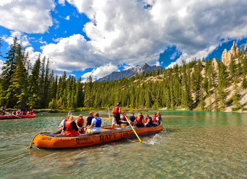 Firefly Holidays Banff Bow River Rafting 600h
