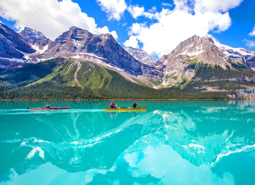 Firefly Holidays Jasper Maligne Lake 4 600h