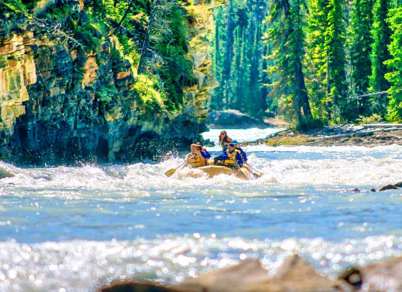 Firefly Holidays Jasper Rafting 2 600h