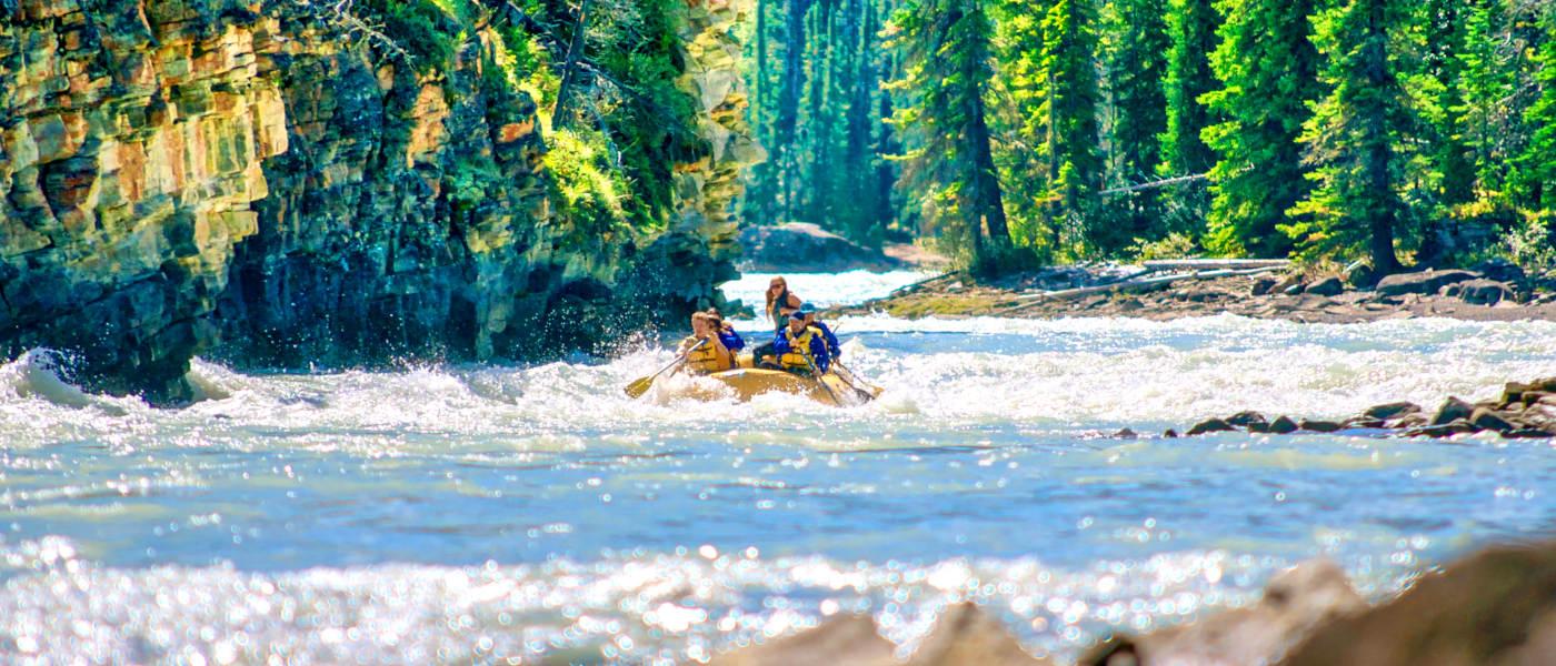 Firefly Holidays Jasper Rafting 2