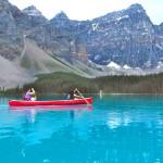 Firefly Holidays Moraine Lake Canoe 2