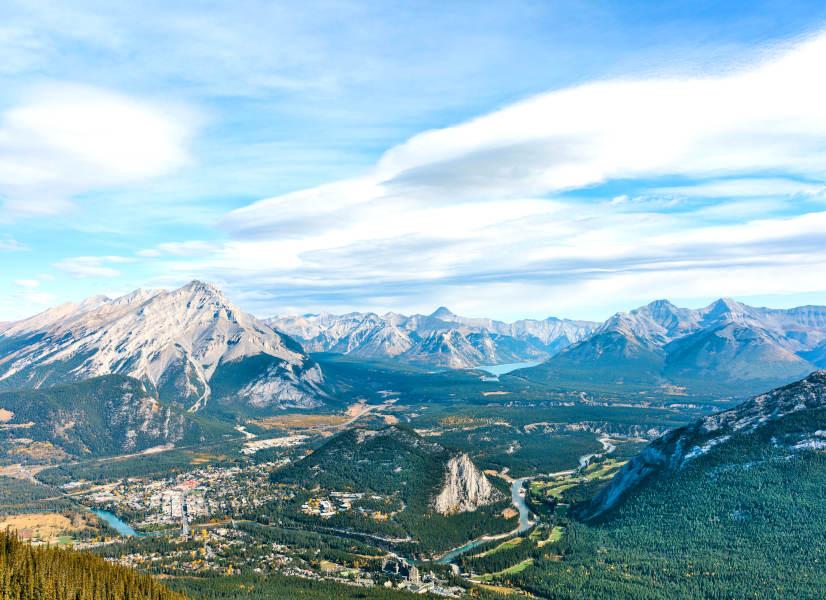 Firefly Holidays Overlooking Banff 600h