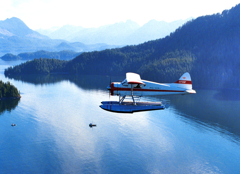 Firefly Holidays Vancouver Island Float Plane 2 600h