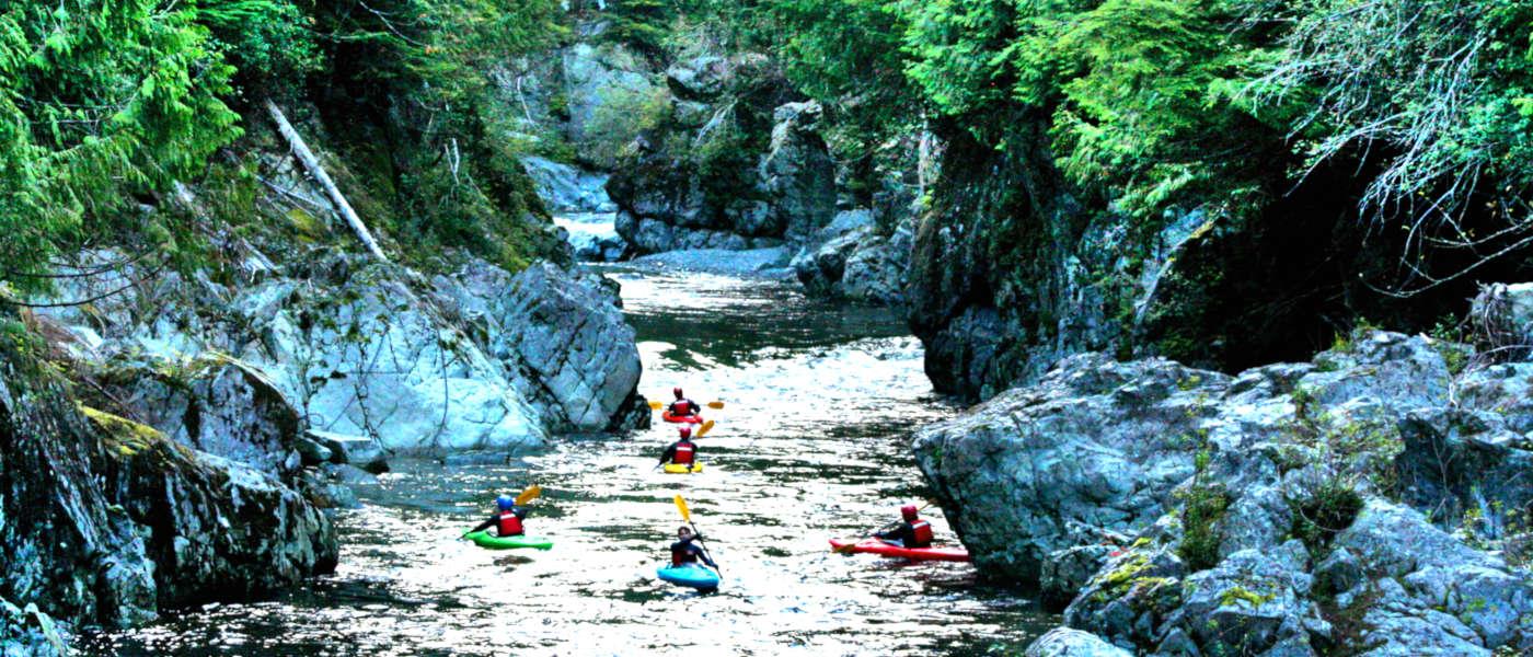 Firefly Holidays Vancouver Island Kayaks 1