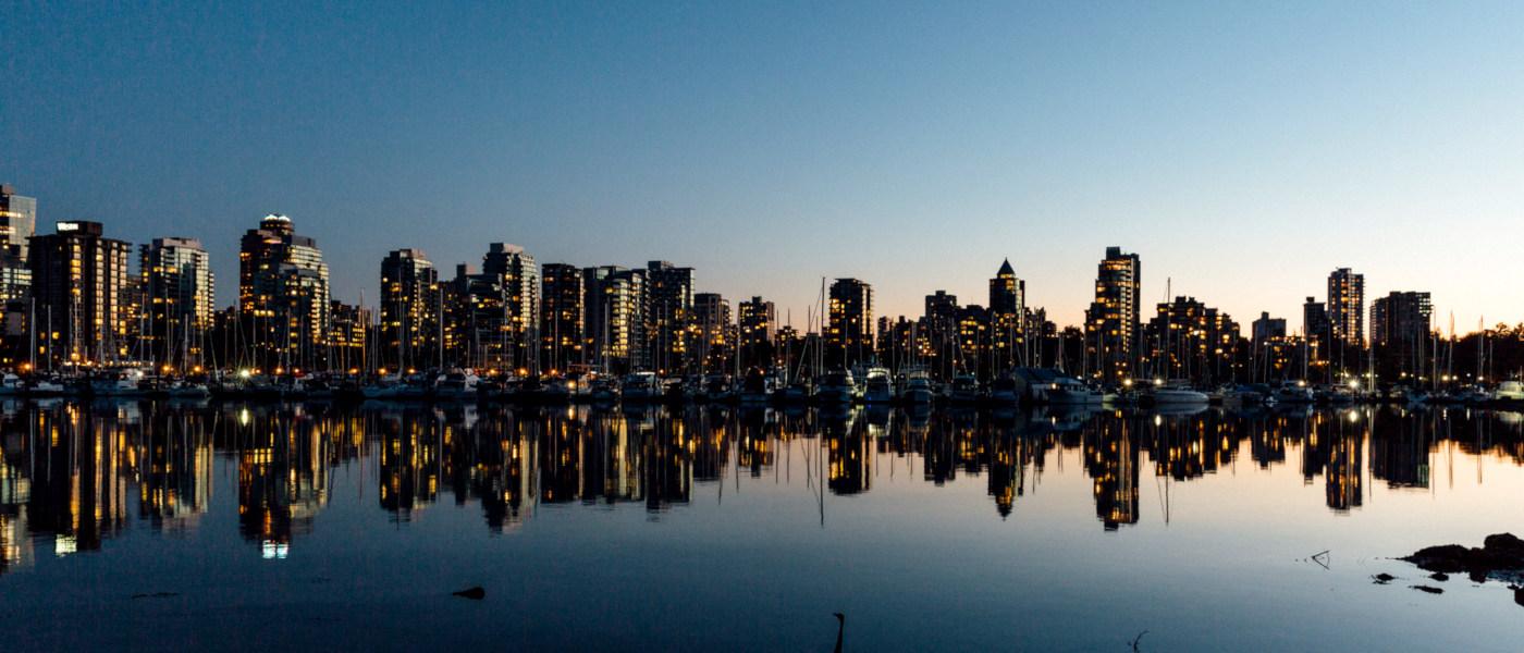 Firefly Holidays Vancouver Dusk