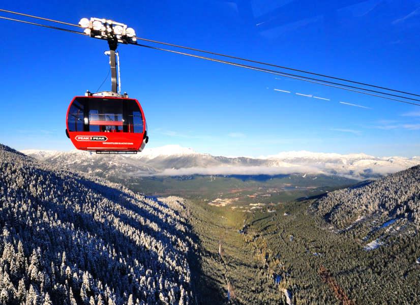 Firefly Holidays Whistler Peak2Peak 600h