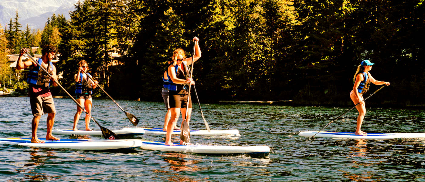 Firefly Holidays Whistler SUP