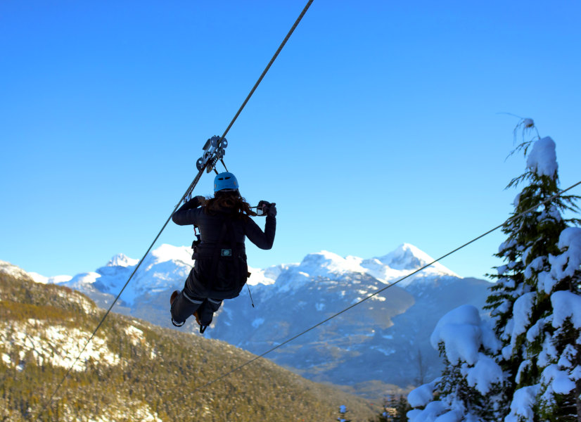 Firefly Holidays Whistler Zipwire 600h