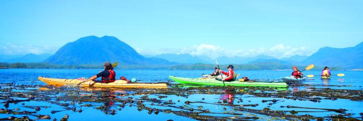 Tofino Kayak Safari Wide