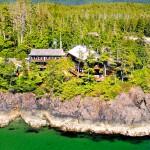 Tofino Middle Beach Lodge Aerial