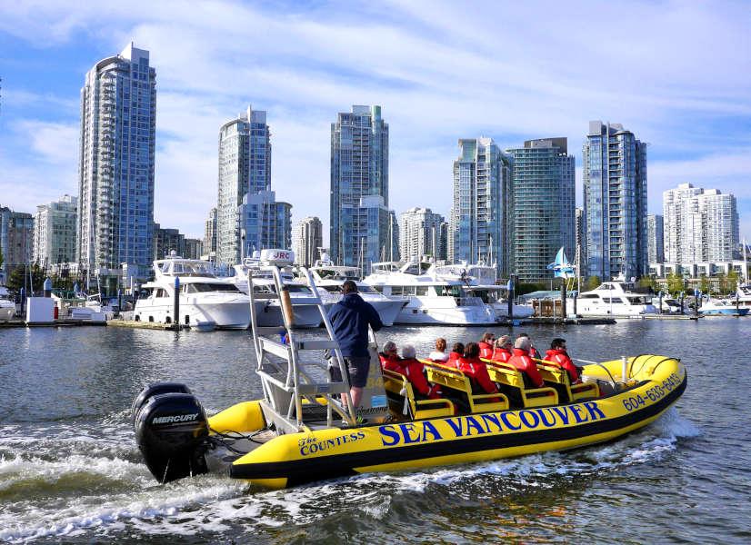Vancouver Harbour Tour 600h
