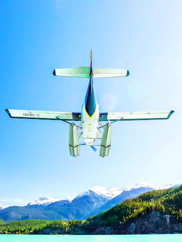 Whistler Glacier Floatplane Tall