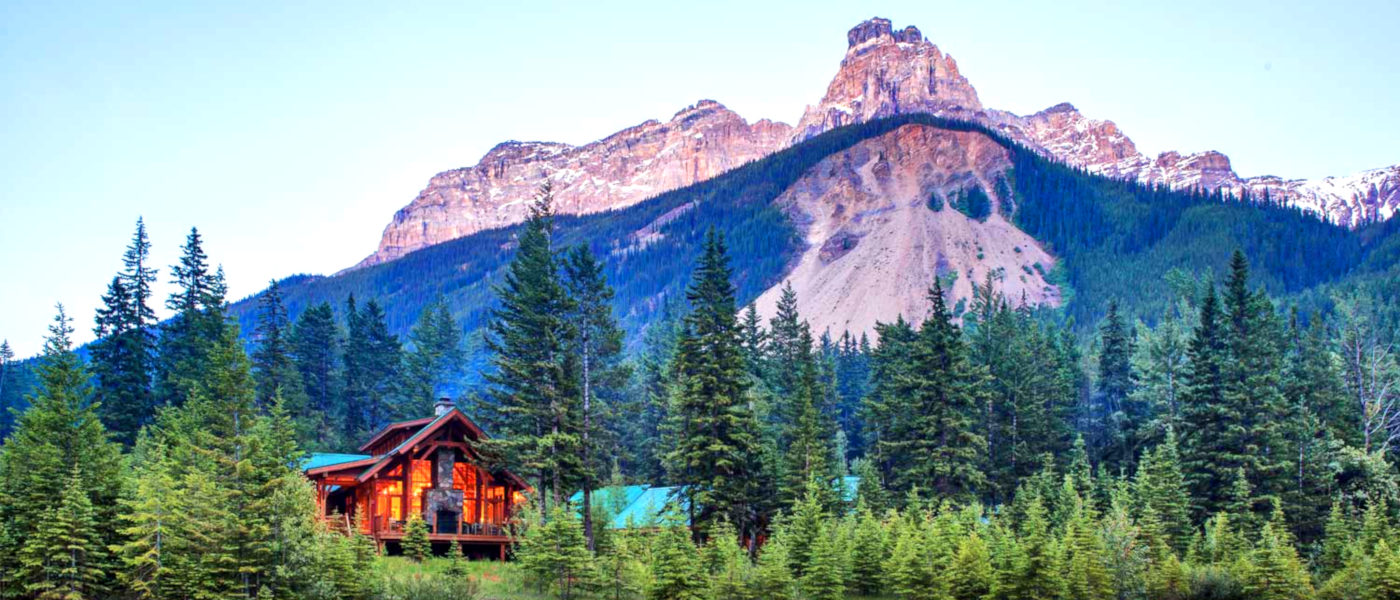 Cathedral Mountain Lodge Setting