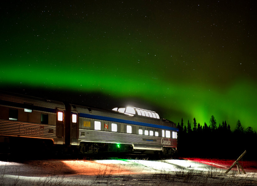 Firefly Holidays The Canadian Aurora 600h