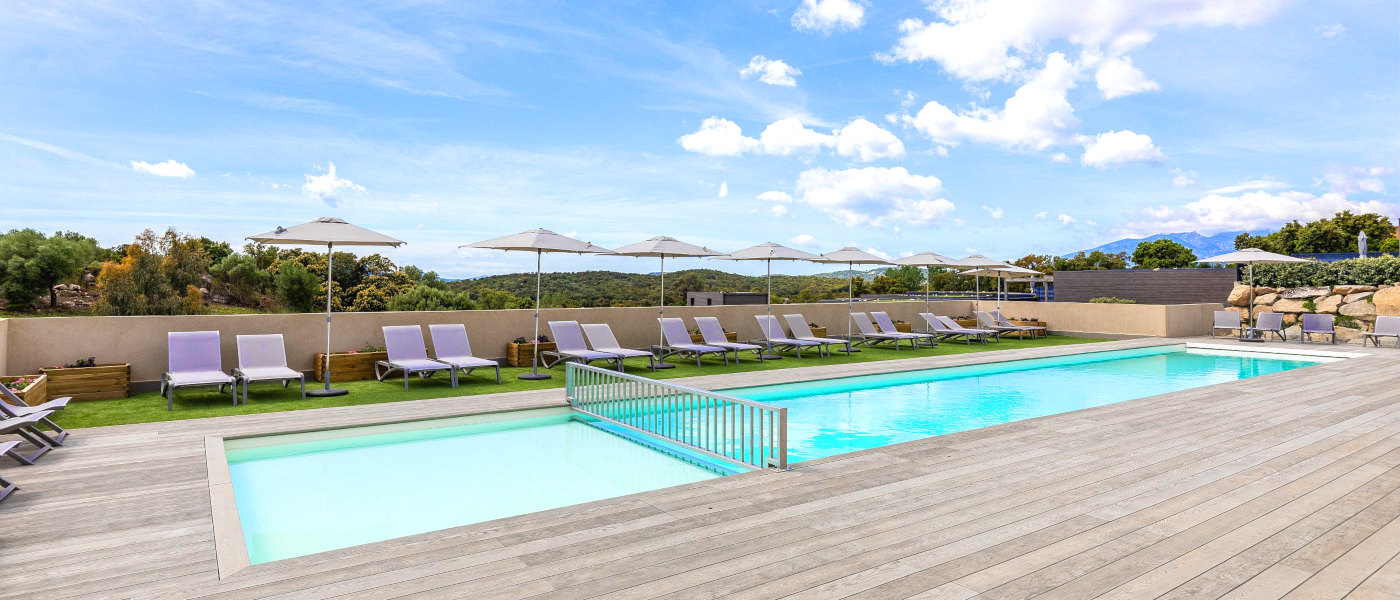 Firefly Corsica Terrasses d'Arsella Main Pool
