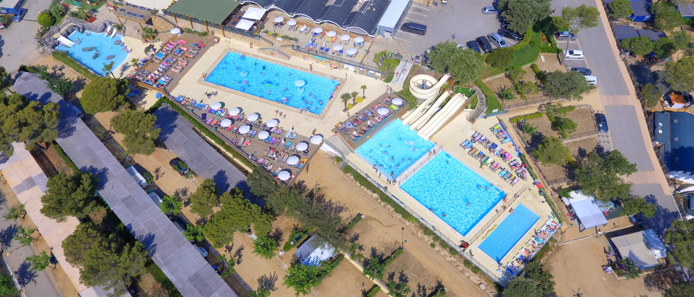 Firefly Holidays Cala Gogo Pools Aerial
