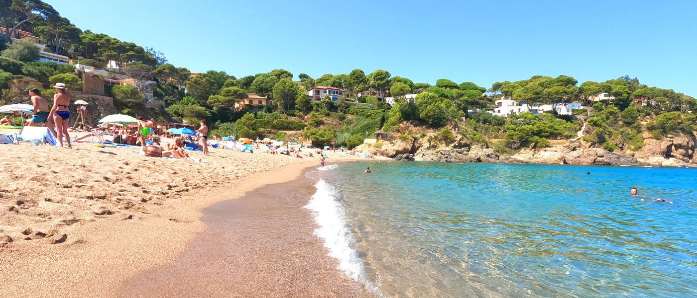 Firefly Holidays Sa Riera Beach 2
