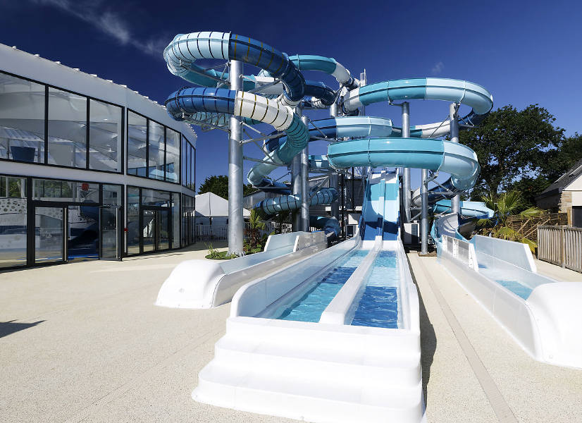 Firefly Holidays Beg Meil L'Atlantique Outdoor Waterslides 600h