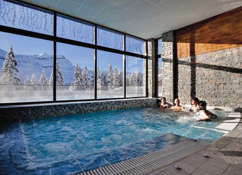 Flaine Mont Terrasses d'Eos Indoor Pool 600h