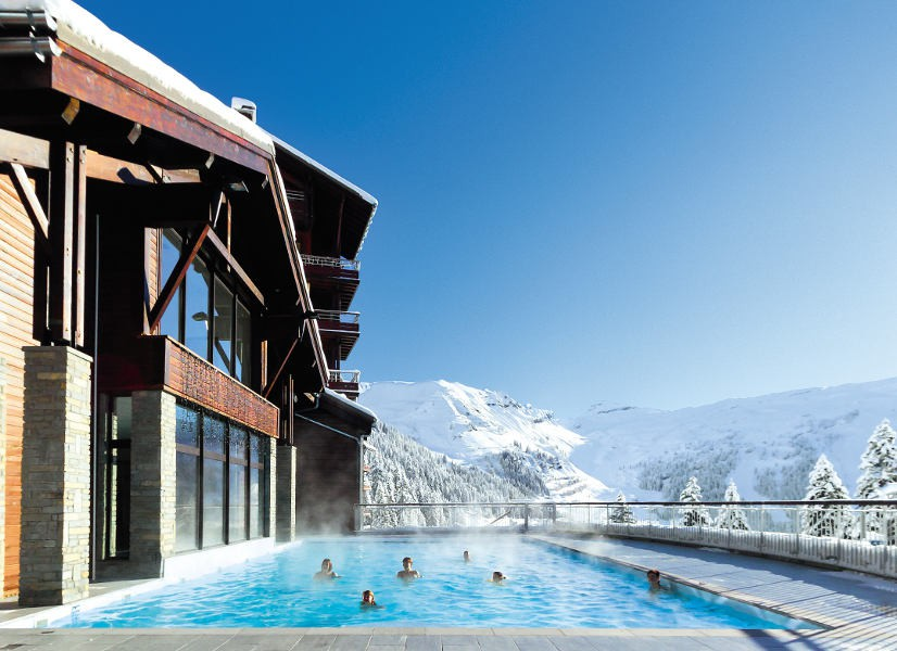 Flaine Mont Terrasses d'Eos Outdoor Pool 600h