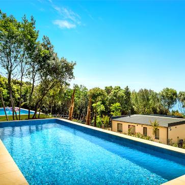Istra Camping Pool Villa Pool 363