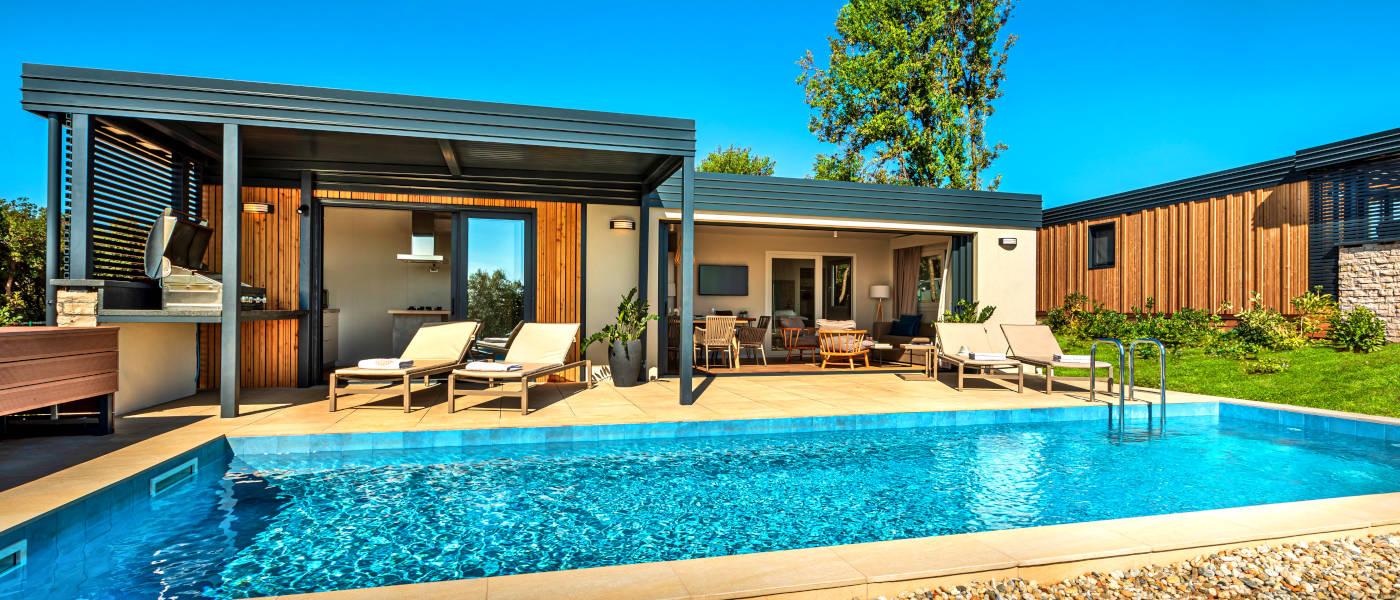 Istra Camping Pool Villa Pool ext