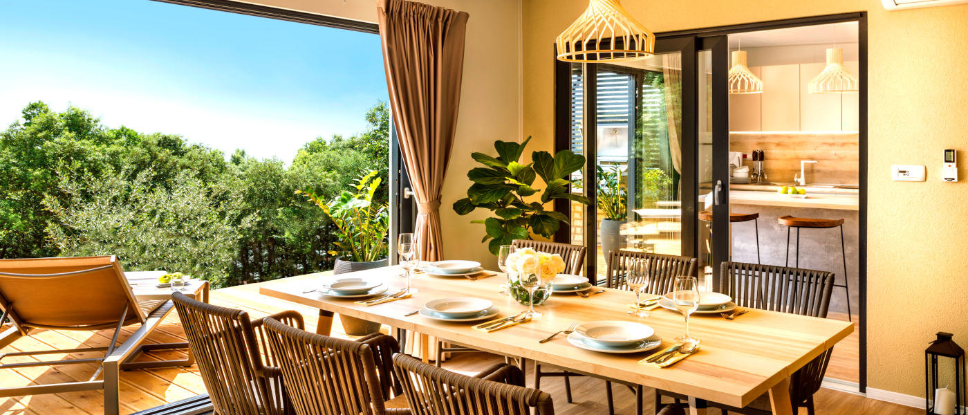Istra Camping Villa Dining