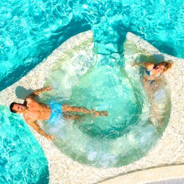 Cypsela Resort Jacuzzi Aerial 363