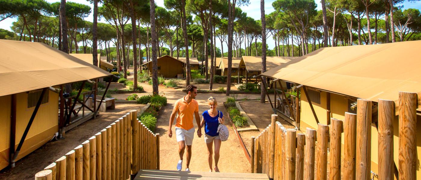 Cypsela Resort Safari Tent Area