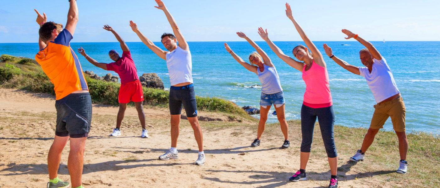 Le Littoral Beach Workout